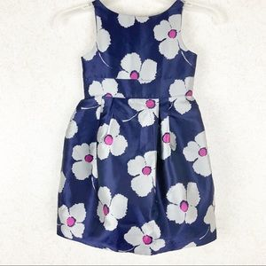 Janie and Jack floral bow sleeveless dress